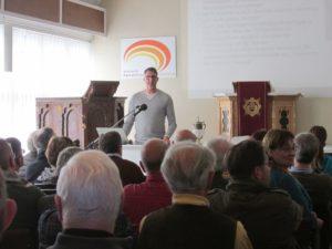 FÄLLT AUS! NAK Mannheim: Die Entstehung der Botschaft J. G. Bischoffs in ihrem kirchen-  und weltpolitischen Kontext