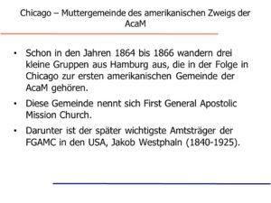 ABGESAGT! Archiv Brockhagen, Vortrag: Was ist die Kirche Christi?
